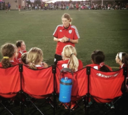 Former NSA Student Becomes a Soccer Coach
